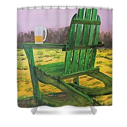 Break Time Shower Curtain by Jack G  Brauer