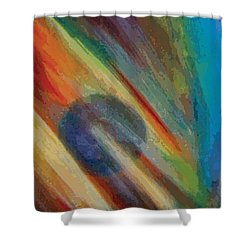 Breakaway Shower Curtain