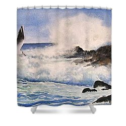 Breakers  Shower Curtain