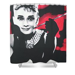 Breakfast At Tiffannys Shower Curtain