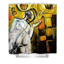 Breakfast On Park Road II Shower Curtain
