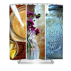Breakfast Options Shower Curtain