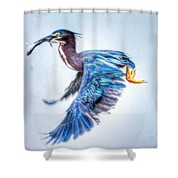 Breakfast Shower Curtain