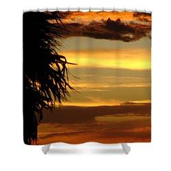 Breaking Dawn Shower Curtain by Priscilla Richardson