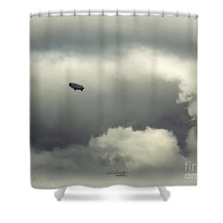Shower Curtain featuring the photograph Breaking Through by Chris Armytage