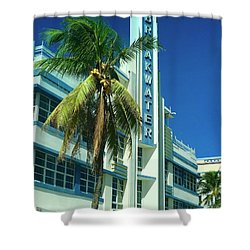 Breakwater Miami Beach Shower Curtain