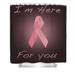 Breast Cancer Shower Curtain