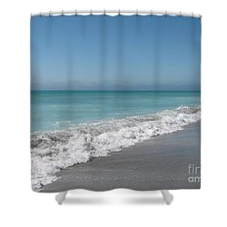 Breath And Be Shower Curtain
