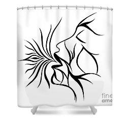 Breath Easy  Shower Curtain