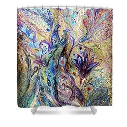 Breath Of Breeze Shower Curtain by Elena Kotliarker
