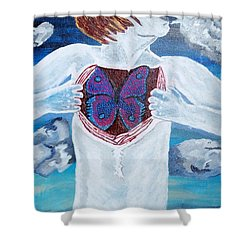 Breathe Deep Shower Curtain
