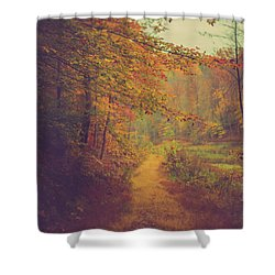 Shower Curtain featuring the photograph Breathe In Autumn by Shane Holsclaw