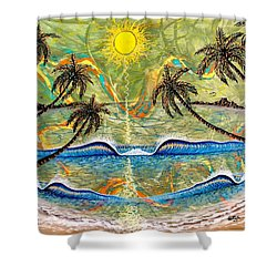 Breathe In Clarity  Shower Curtain