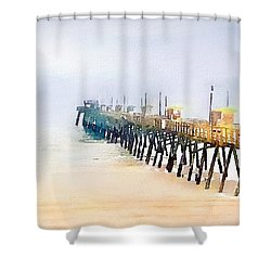Breathe In Shower Curtain