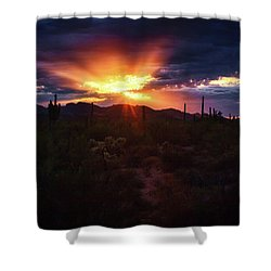 Shower Curtain featuring the photograph Breathe by Rick Furmanek