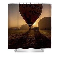 Breathe The Air Shower Curtain by Jorge Maia