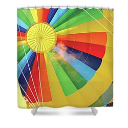 Breathing Fire Shower Curtain