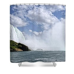 Breathless Shower Curtain