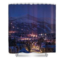 Breckenridge Phenomenon Shower Curtain