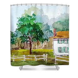 Brecknock Park Shower Curtain