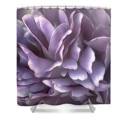 Shower Curtain featuring the photograph Breeze In Cool Lilac by Darlene Kwiatkowski