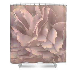 Shower Curtain featuring the photograph Breeze In Pastel Pearl by Darlene Kwiatkowski