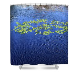 Breeze On The Water  Shower Curtain by Lyle Crump