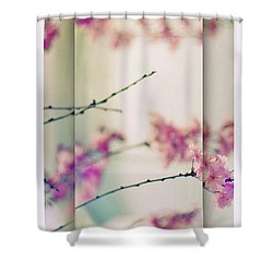 Shower Curtain featuring the photograph Breezy Blossom Panel by Jessica Jenney