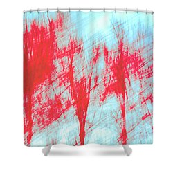 Shower Curtain featuring the photograph Breezy Moment by Ari Salmela