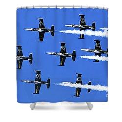 Breitling Air Display Team L-39 Albatross Shower Curtain