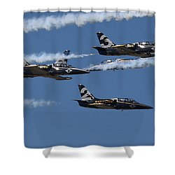 Breitling Convergence Shower Curtain