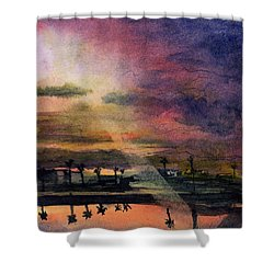 Brenda's Bay Shower Curtain