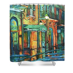 Brennan's Shower Curtain by Dianne Parks