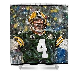 Brett Favre Shower Curtain