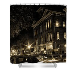 Shower Curtain featuring the photograph Market Street by Robert Geary