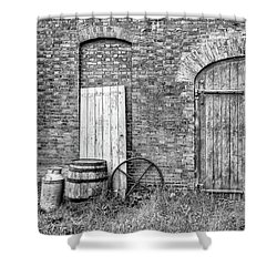 Brewhouse Door Shower Curtain