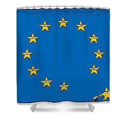 Brexit Eu Flag  Shower Curtain