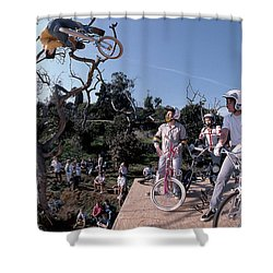 Brian Blyther Enchanted Ramp Shower Curtain