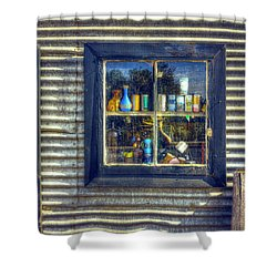 Shower Curtain featuring the photograph Bric-a-brac by Wayne Sherriff
