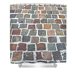 Brick By Brick Shower Curtain
