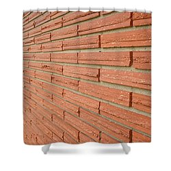 Brick Wall 1 Shower Curtain