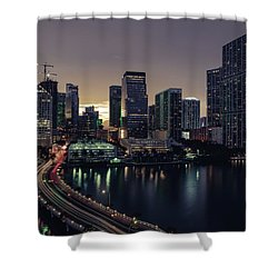 Brickell City Centre Shower Curtain