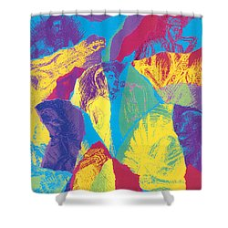 Brickhouse Shower Curtain