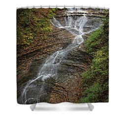 Shower Curtain featuring the photograph Bridal Veil Falls by Dale Kincaid