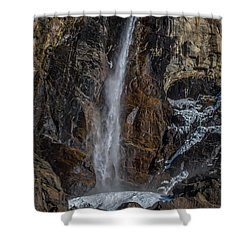 Bridal Veil Falls On Ice Shower Curtain