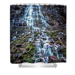 Bridal Veil Falls Utah Shower Curtain