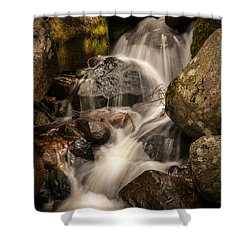 Bridal Veil Water Shower Curtain