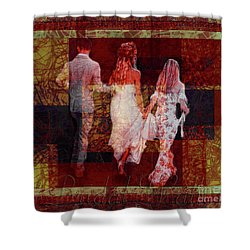 Bridal Walk Shower Curtain