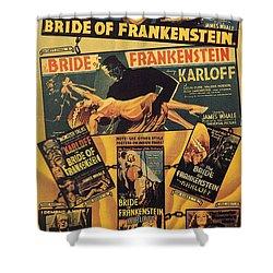 Bride Of Frankenstein 1935 Shower Curtain