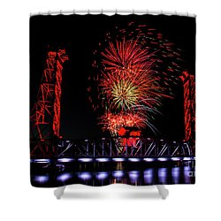 Bridge 13 In Welland Shower Curtain